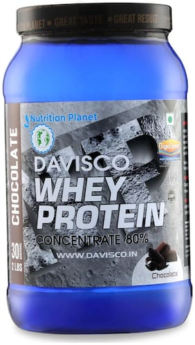 Nutrition Planet Davisco Whey Protein With Added DigeZyme Chocolate 2 lbs