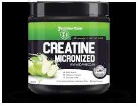 Nutrition Planet Micronized Creatine Monohydrate Green Apple 348g