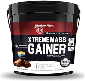 Nutrition Planet Xtreme Mass Gainer With Added DigeZyme Chocolate 5 kg