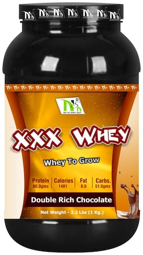 Nutro Sports Nutrition Xxx Whey 1kg ( Pack of 1 )