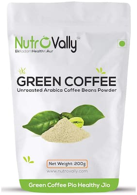 Nutrovally Organic green coffee powder for weight loss - 200g