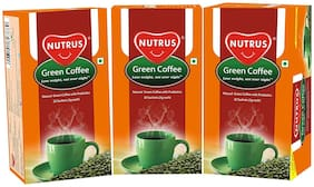 Nutrus Green Coffee (Pack of 3 ) (20 Sachets Each)