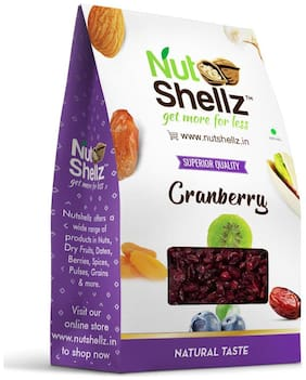 Nutshellz Dried Cranberry, 100 grams