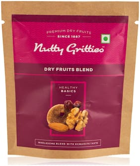 Nutty Gritties Dry Fruits Blend (Pack Of 9 - 25G Each)  225G