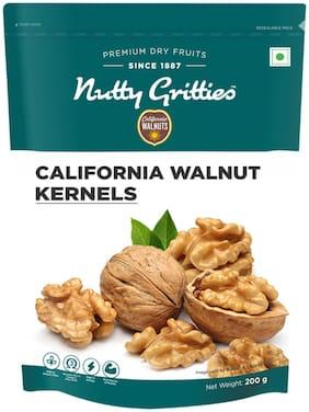 Nutty Gritties California Walnut Kernels Akhrot Giri - 200g