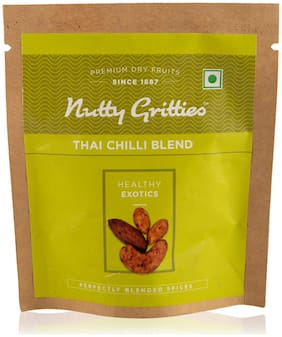 Nutty Gritties Thai Chilli Blend (Pack of 10 - 25 gm Each) 250 gm