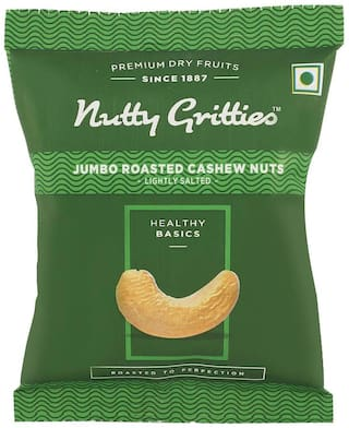 Nutty Gritties Roasted Salted Cashew 80 G 1Pc