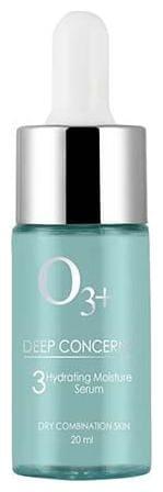 O3+ Deep Concern 3 Hydrating Moisture Serum For Dry & Combination Skin 20 ml