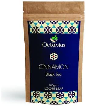 Octavius Cinnamon Loose Leaf Black Tea - 100 g