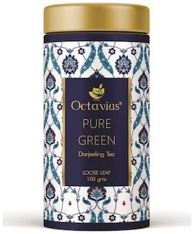 Octavius Darjeeling Whole Leaf Green Tea In Tin Can