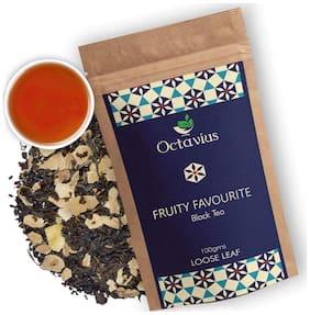 Octavius Fruity Favourite Black Tea Loose Leaf - 100g Exotic Black Tea Blend