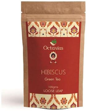 Octavius Hibiscus, Clove & Lemon Grass Green Tea - 100g in ZipLock