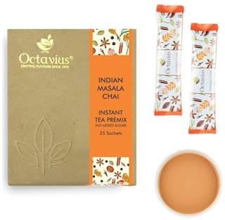 Octavius Indian Masala No Added Sugar Ready Tea -25 Sachet