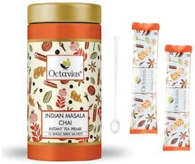 Octavius Indian Masala Ready Tea, 10 Single Serve Sachets in Gift Tin