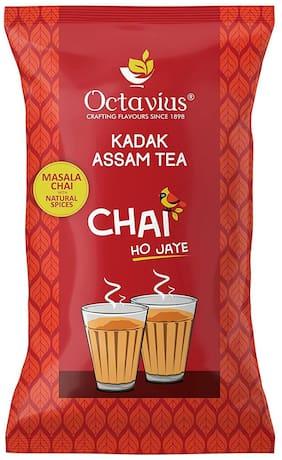 Octavius KADAK MASALA Chai | Strong, Aromatic Assam CTC Black Tea with Natural Spices - 1 Kg