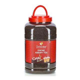Octavius Kadak Assam CTC Tea Mason Jar (2.5 kg)