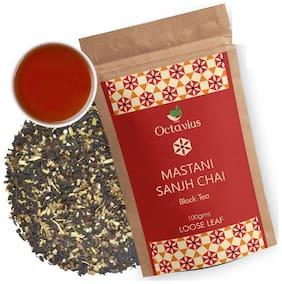 Octavius Mastani Sanjh Chai - 100 g - Perfect Blend of Black Tea;Cardamom;Ajwain;Fennel and Cloves;Spiced Assam Digestive & Energy Tea