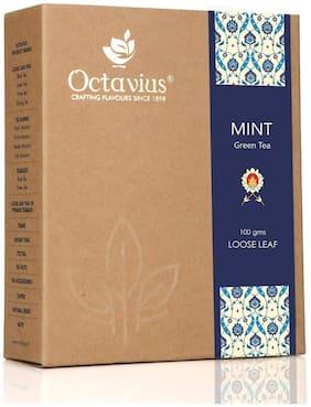 Octavius Mint Loose Leaf Green Tea - 100 g