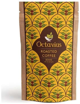 Octavius Roasted Coffee Beans -250 g In Ziplock Pouch