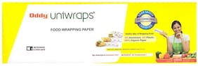 Oddy Uniwraps Food Wrapping Paper Roll (100 Meter)