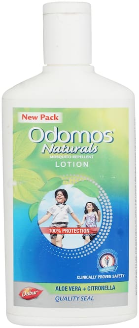 Odomos Naturals Mosquito Repellent Lotion 120 ml