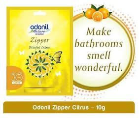 Odonil  Zipper Bathroom Air Freshener - Blissful Citrus 10 g