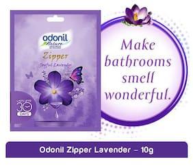 Odonil  Zipper Bathroom Air Freshener - Joyful Lavender 10 gm