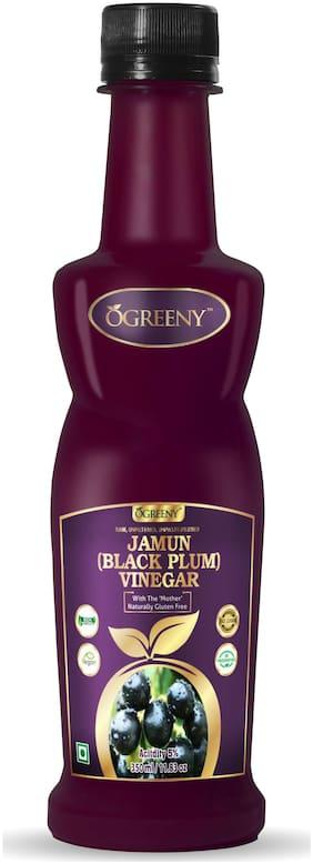 Ogreeny Jamun Vinegar 350 ml - Raw, Unfiltered & Undiluted