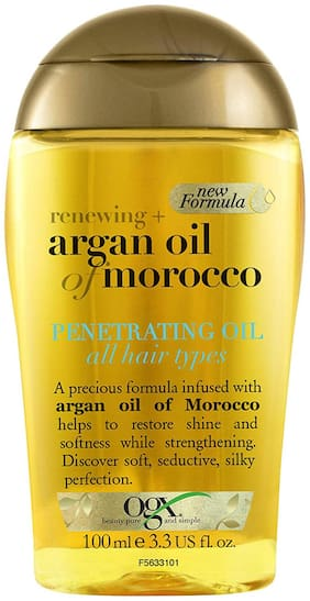 OGX Renewing Argan oil of Morocco Penetrating Oil, with argan oil for soft, seductive, silky perfection hair, 100ml