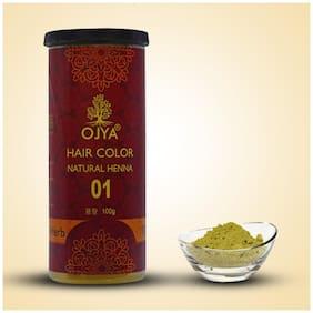 OJYA 100% Natural Hair Color Natural Henna Powder Cane 100gm