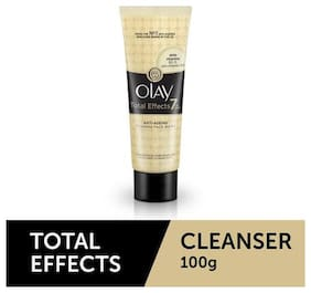 Olay Face Wash Cleanser - Total Effects Anti Ageing 100 Gm