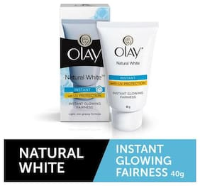 Olay Instant Glowing Fairness Skin Cream Natural White Light 40 g