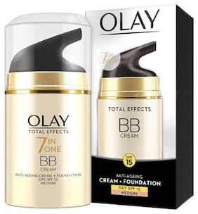 Olay Total Effects 7 In one BB Cream Anti-Ageing Cream +Foundation Day SPF 15 Medium 50 g
