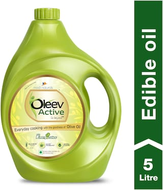 Oleev Active Oil- With Goodness of Olive Oil, Jar, 5L