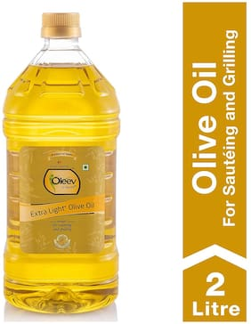 Oleev Extra Light Olive Oil - Frying  Sauteing & Grilling   2L