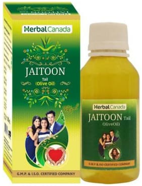 Herbal Canada Olive Oil (Jaitoon Oil)   Good for Healthy Hair   100% Natural