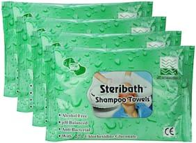OM Shampoo Towels 40 Pcs (pack of 4)