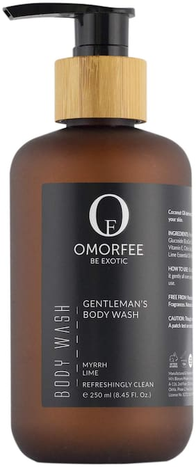 OMORFEE Gentleman's Body Wash (infused with Myrrh, Lime