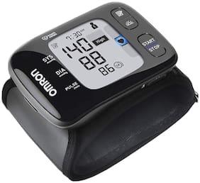Omron HEM 6232T Wrist Blood Pressure Monitor/ BP Machine with Bluetooth Connectivity (Black)
