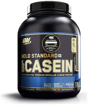 ON (Optimum Nutrition) Gold Standard 100% Casein Protein Powder - 4 lbs, 1.82 kg (Chocolate Supreme)