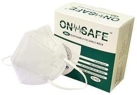 On Safe N95 Face Mask with Earloops ( Pack of 10 )