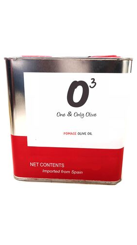 ONE AND ONLY OLIVE Pomace Oil- 3 Ltr