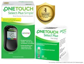 OneTouch Select Plus Simple with 10 Free Strips