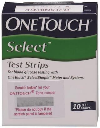 Onetouch Select Simple 10 Strips Box