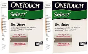Onetouch Select 100 Test Strips Count