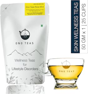 Ono Teas Rose Mint Tea - Pack of 1 50g