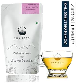 Ono Teas Spearmint PCOD Tea Pack of 1 (50 g x 1)