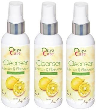Onyx Care Lemon & Aloevera Cleanser (Vitamin Enriched) (Pack Of 3)