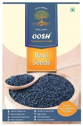 Oosh Basil Seeds Seeds 500 G 1Pc
