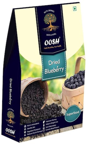 Oosh Dried Blueberry (Superfood) 150 Grams (Pack Of 1)